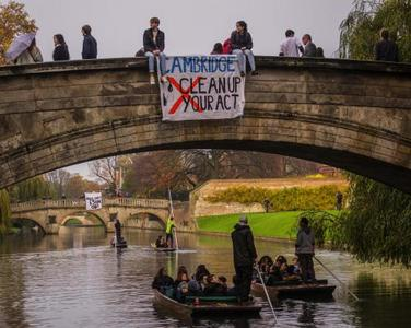 CAMBRIDGE UNIVERSITY, DIVEST FROM FOSSIL FUELS