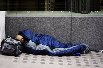Canterbury City council help homeless survive the winter