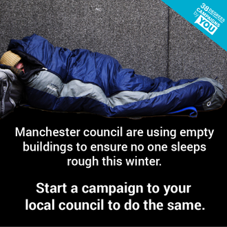 Keep the homeless of Middlesbrough, and Stockton warm this winter.