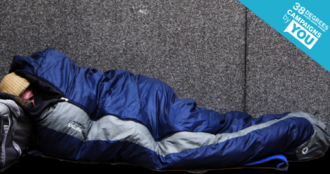 say no to sleeping rough this winter