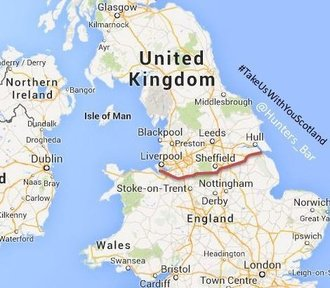 Allow the north of England to secede from the UK & join Scotland