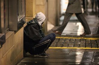 Open up empty buildings to shelter the homeless in Newcastle this Winter