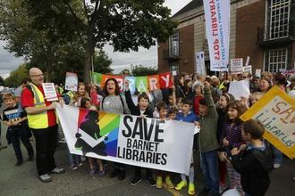 NO TO VOLUNTEER AND UNSTAFFED LIBRARIES IN BARNET