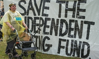Re-opening the independent living fund for disabled people