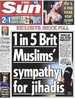 The Sun should be accountable for promoting race hatred.