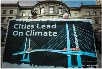 Cities lead on climate