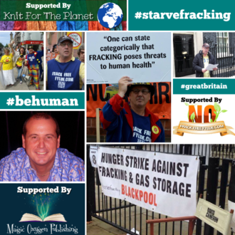 Talk to the Peaceful Anti-Fracking Protester on Hunger Strike Opposite 10 Downing St