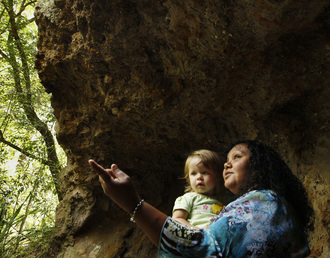 Save the Aboriginal Butterfly Cave