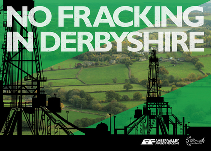 No Fracking in Amber Valley