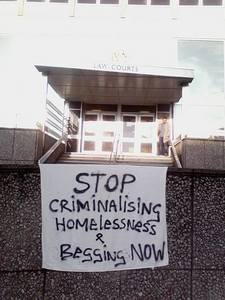 Stop Criminalising Homelessness and Begging