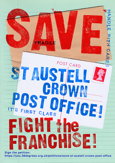 SAVE ST AUSTELL CROWN POST OFFICE!