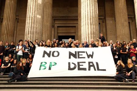 Call on the Scottish National Portrait Gallery to cut ties with BP!