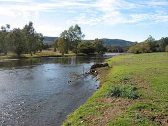 B gwydir river  upstream