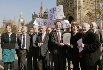 SUPPORT THE NHS REINSTATEMENT BILL TO BRING BACK OUR NHS