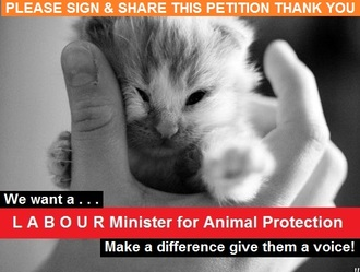 A Labour Minister for Animal Protection.