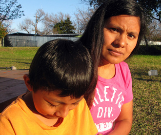 Tell the Obama Administration: Stop the Deportation of Asylum Seekers Hilda Ramirez and her son Ivan