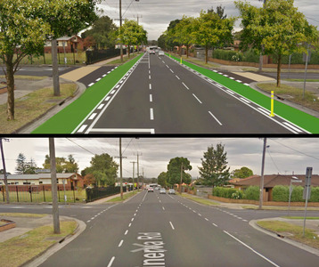 We want safe bike lanes for 'school central' in Geelong's west