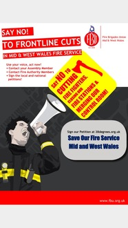 Save Our Fire Service Mid And West Wales