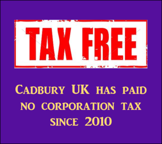 Cadbury UK should start paying its fair share of tax this Easter