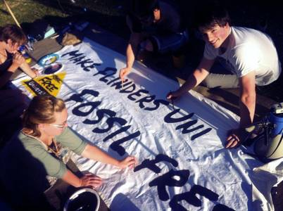 Divest Flinders University from Fossil Fuels
