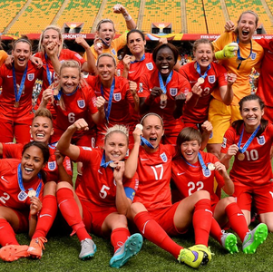 Broadcast equality for England's women national football team