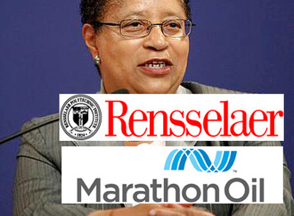 Dr. Shirley Jackson, please stop working for big oil