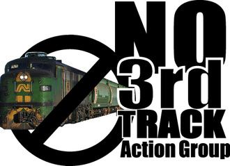 STOP the 3rd freight line SAVE our health and village