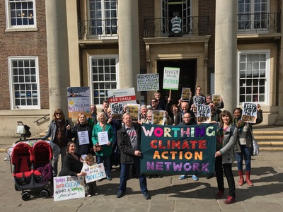 Divest West Sussex County Council pension fund from fossil fuel companies.