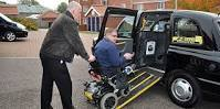 licensed disabled taxis must have working ramps at all times to operate