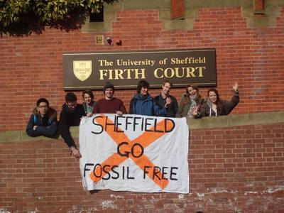University of Sheffield for Fossil Free Research