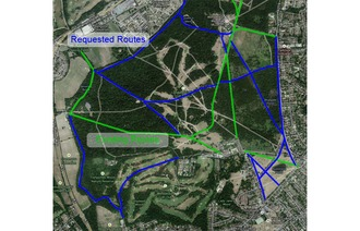 More cycling routes in Wimbledon Common