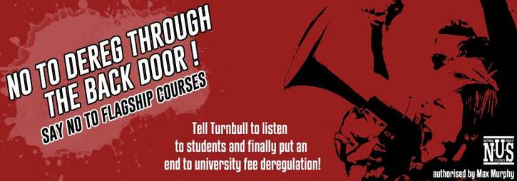 SAY NO TO FLAGSHIP COURSES! Tell Turnbull to put an end to university fee deregulation