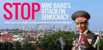 Urgent Petition: Democracy in the Inner-west under attack by Premier Baird