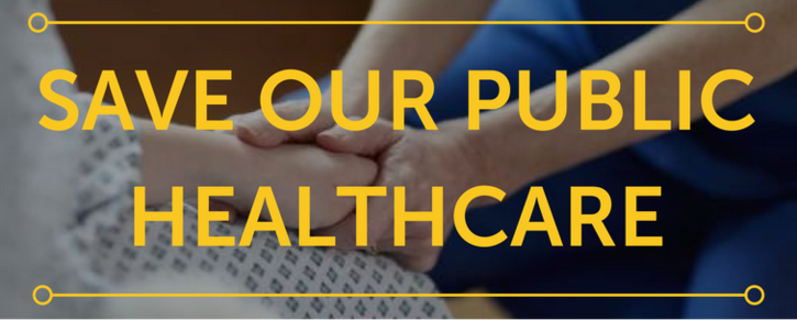 Save Our Public Healthcare: Hutt Members of Parliament