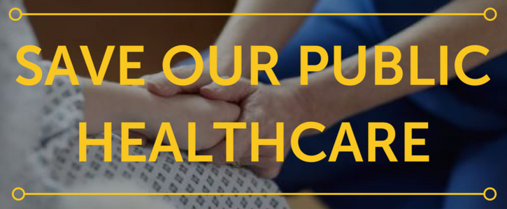 Save Our Public Healthcare: West Coast Members of Parliament