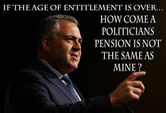 Politicians Pensions. Equity and Fairness in meeting the expectations of Australia's Citizens.