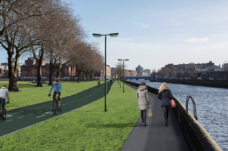 Save the Liffey Cycle Route -- keep it on the quays