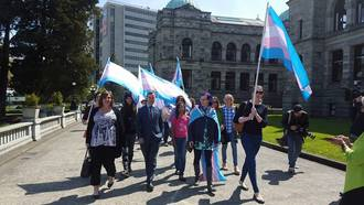 Amend the BC Human Rights Code (BCHRC) to include gender identity and gender expression