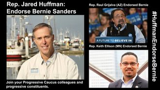 Superdelegate Huffman: vote in accordance with your constituents.