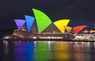 Light up the Sydney Opera House with the Pride Flag