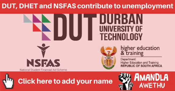 DUT, DHET, and NSFAS contribute to graduate unemployment