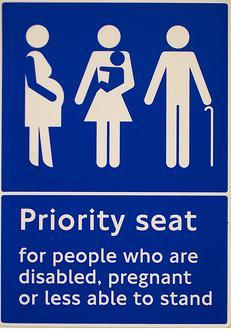 PRIORITY SEATS SHOULD NOT BE IGNORED! #lookupgetup