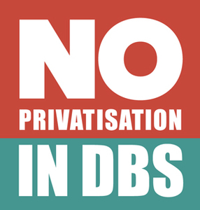 Stop privatisation of Defence Business Services