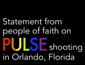 People of Faith Statement on Pulse Orlando Shooting
