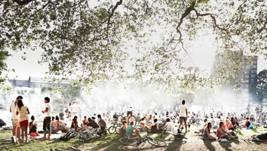 Ban BBQs on London Fields