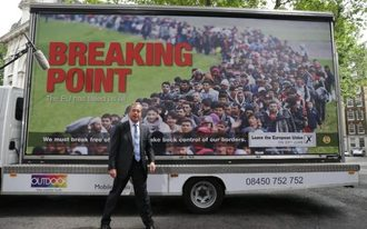 Charge Nigel Farage with Incitement to Racial Hatred