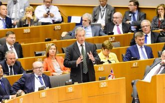 Block Nigel Farage from the European Parliament