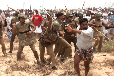 Stop violence against Kudankulam protesters