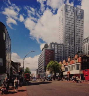 Amend the Harrison Gibson development proposal in Ilford High Road