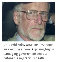 Public Enquiry into the Events leading upto and following the Death of Dr David Kelly